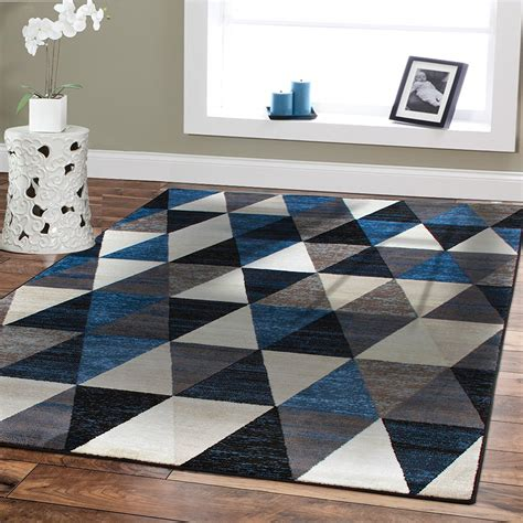 living room area rugs contemporary amazon com premium large rugs 8x11 modern rugs for brown