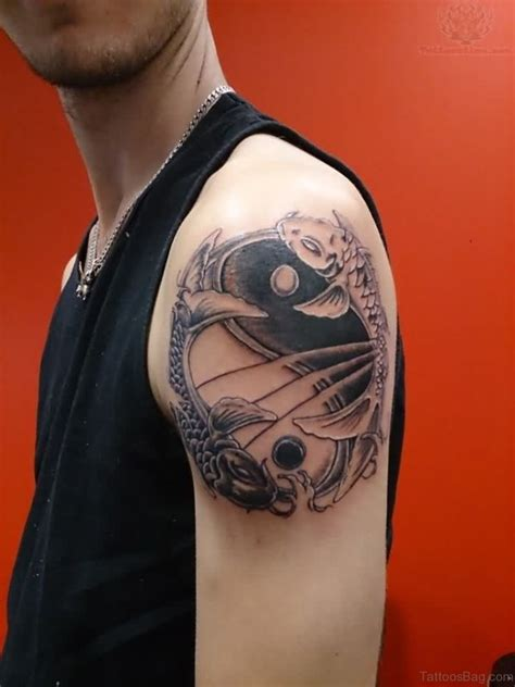 30 Trendy Yin Yang Shoulder Tattoos Shoulder 30 Beautiful Shoulder Tattoos For