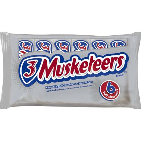 3 musketeers chocolate full size chocolate bars candy box