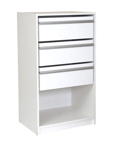 Wardrobe Drawers Inserts - multistore 3 jumbo drawer wardrobe insert bunnings