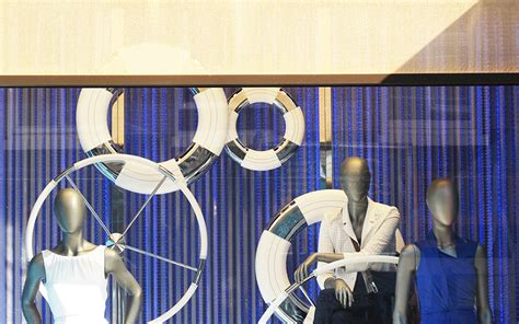 hugo boss themes hugo boss nautical theme window display best window