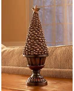 pine cone home decor elegant pine cone topiary mantel centerpiece christmas home decor 3 sizes avail ebay