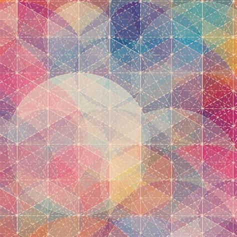 pretty geometric art    lovely ipad background