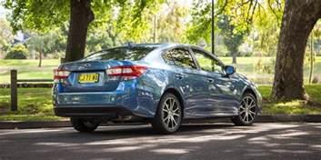 Subaru Sedan 2017 Subaru Impreza 2 0i L Sedan Review Caradvice