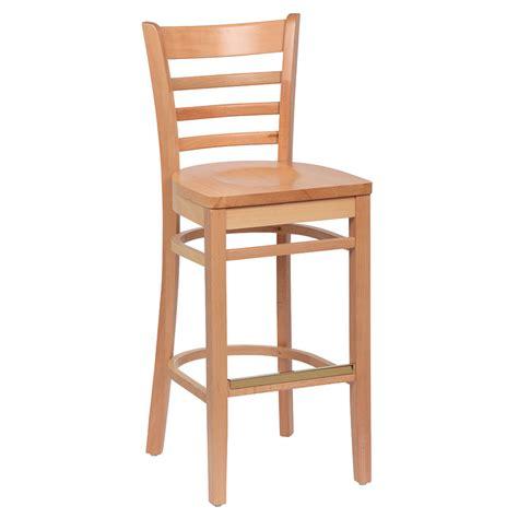 royal industries bar stools royal industries roy 8002 n ladder back wood bar stool w
