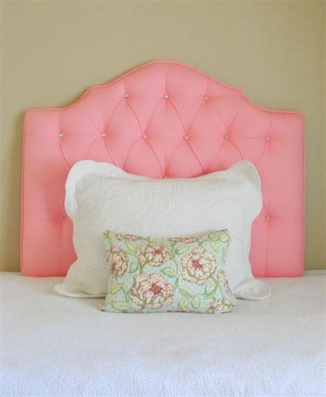 pink tufted headboard twin custom tufted upholstered headboard made to order