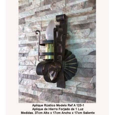 apliques rusticos apliques de forja para iluminaci 243 n apliques r 250 sticos de