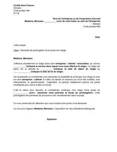 modele de lettre de demande pdf forme de lettre de