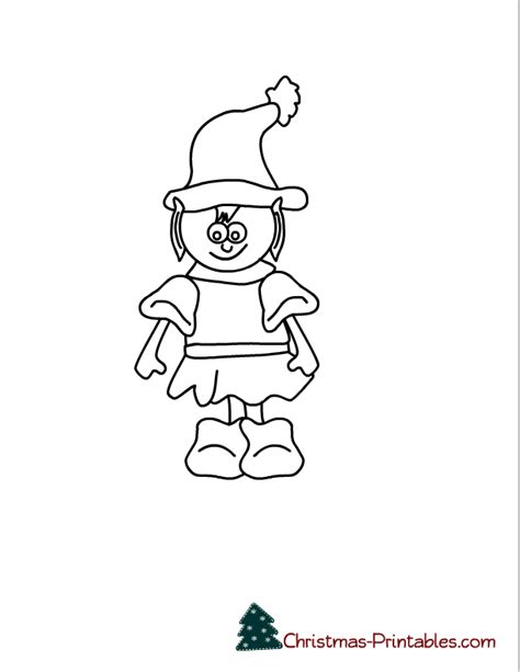 cute coloring pages of elves cute elf coloring pages az coloring pages