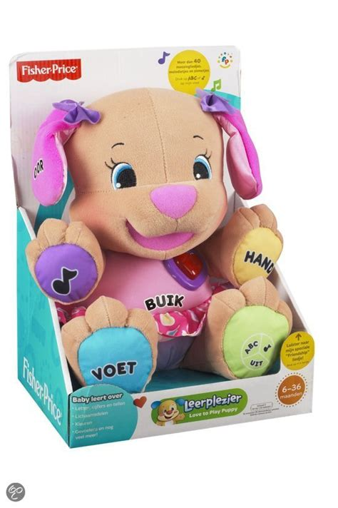 Bol Fisher Price To Play Puppy Knuffeldier Mattel Speelgoed