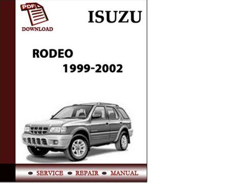 online auto repair manual 2001 isuzu trooper security system repair user isuzu rodeo 1999 manual pdf