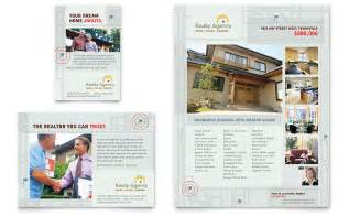 real estate agent amp realtor flyer amp ad template word