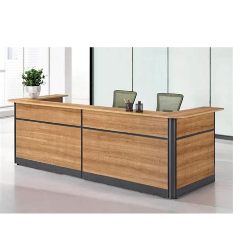 counter desk drawer high quality simple wooden reception counter with 3 drawer