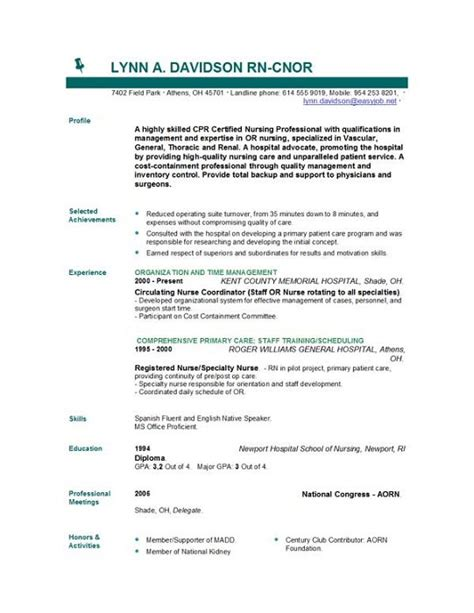 nursing resume templates australia entry level registered resume car interior design