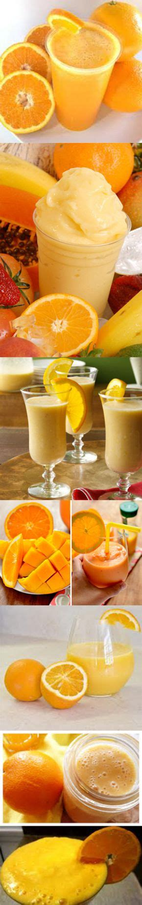 7 Smoothie Recipes by 7 Awesome Healthy Orange Smoothie Recipes 187 Make Me Happy