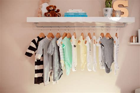 Nursery Wardrobe With Shelves by Make Easy Diy Nursery Wardrobe Shelf Fresh