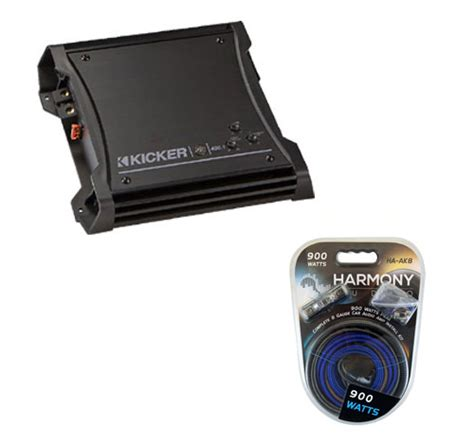 Kicker Zx400 1 kicker zx400 1 lifier w 8 kit 10zx400 1 rs