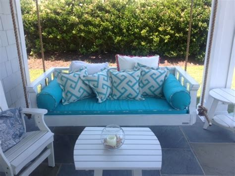 vintage porch swings charleston customer photos beach style porch charleston by