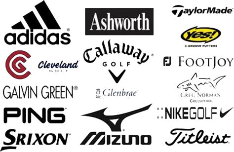 clothes brand golf clothing brands range of