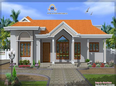 Single Story House Elevation | front elevation single story house single floor house