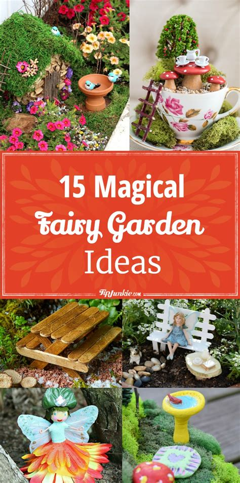15 magical garden ideas diy tip junkie