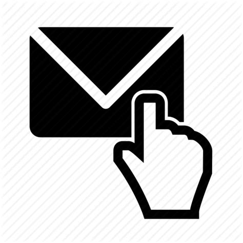 open check check email click email email clicks letter message