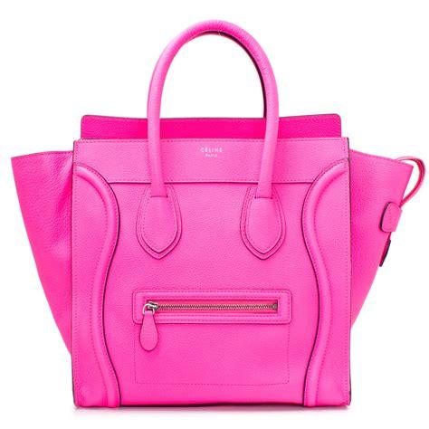 Pink Bag 16521 mini luggage fluo pink