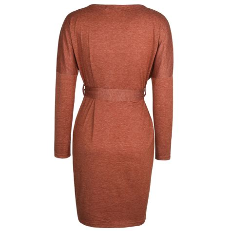 Winter Dress Bodycon womens winter bodycon dress sleeve evening