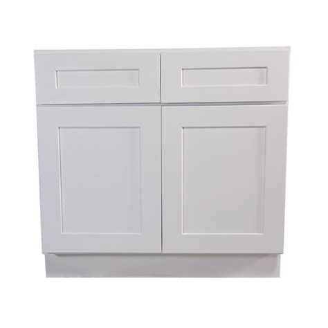 Pre Assembled Kitchen Cabinets Home Depot Design House Brookings Fully Assembled 42x34 5x24 In Kitchen Base Cabinet In White 613216 The