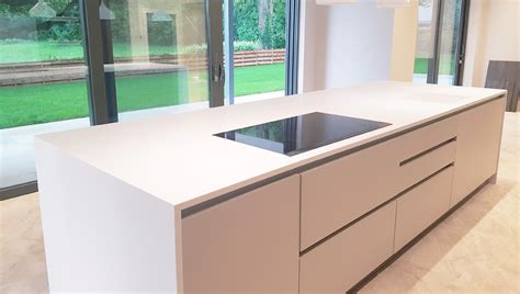 Kitchen Island Worktop | corian kitchen island worktop installation in milton keynes