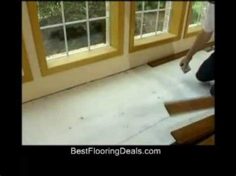 Installing Real Hardwood Floors How To Install Real Wood Flooring