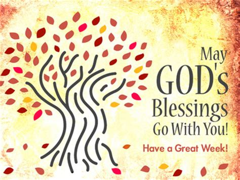 image: blessing | powerpoint themes autumn trees