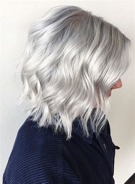 how to get gray hair color get gorgeous silver gray hair color ideas for