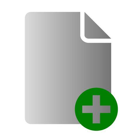 File Add Icon Free Vector / 4Vector