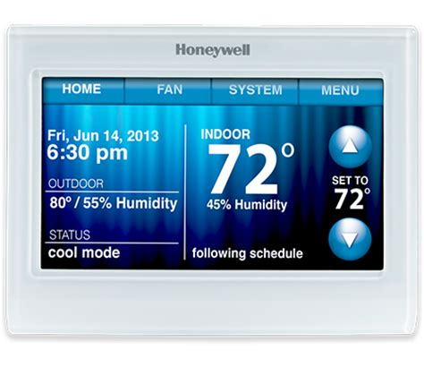 wi fi programmable thermostat wi fi 9000 | honeywell