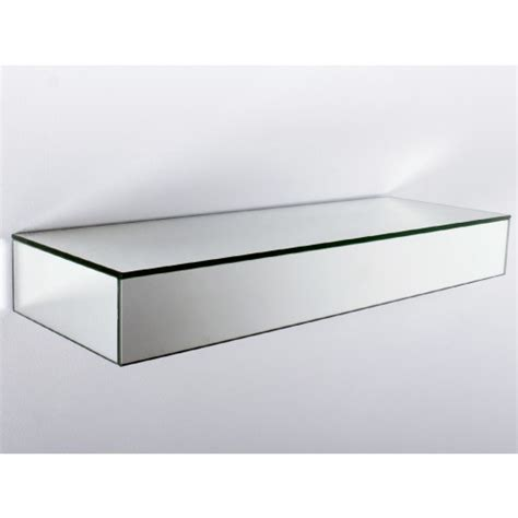 mirrored floating shelves images