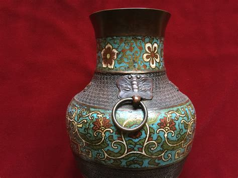 How To Identify Antique Vases by Antique Cloisonne Vase Elite Collectible