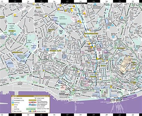 streetwise map laminated city center map of michelin streetwise maps books images