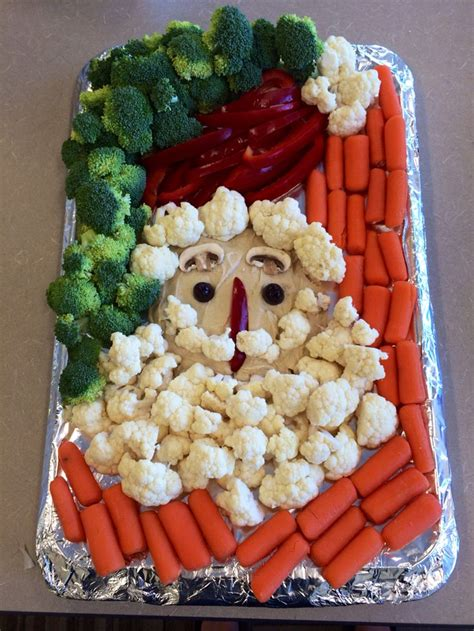vegetable santa claus platter 1000 ideas about fruit tray displays on vegetable tray display fruit trays and