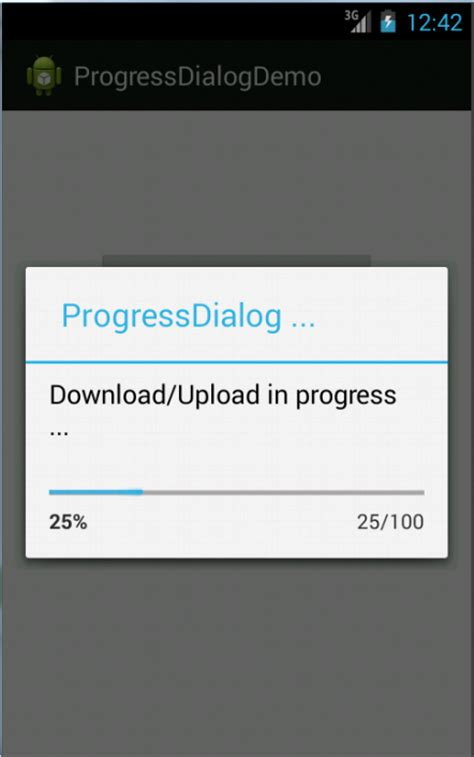 android progress dialog android tutorials android progress dialog