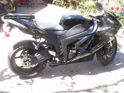 2007 Kawasaki Zx6r by 2007 Kawasaki Zx6r Black Www Imgkid The Image Kid