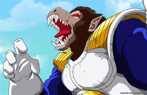 imagenes de goku oozaru vegeta ozaru coloured by ezio anime on deviantart