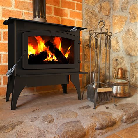 wood stove for fireplace pleasant hearth lws 130291 2 200 sq ft large wood
