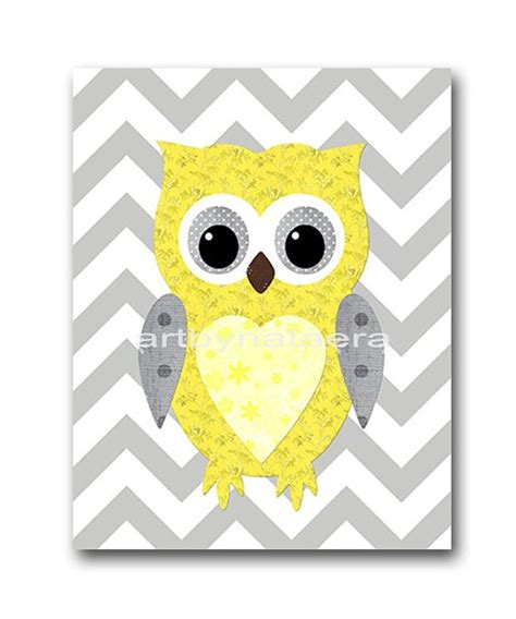 Owl Wall Decor For Nursery Owl Nursery Kid Wall And Owl On