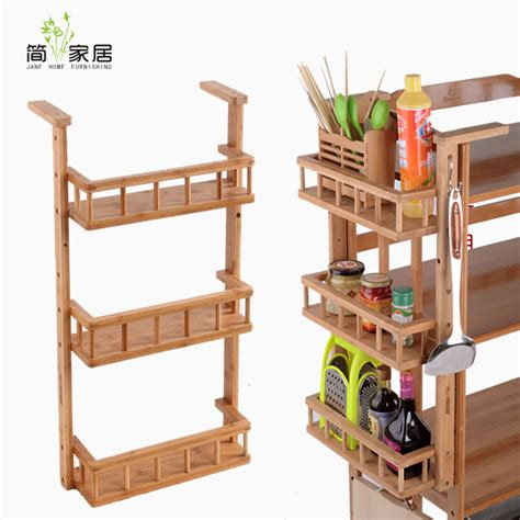 Bamboo Spice Rack Bamboo Spice Rack Seasoning Shelf Storage Rack Shelf