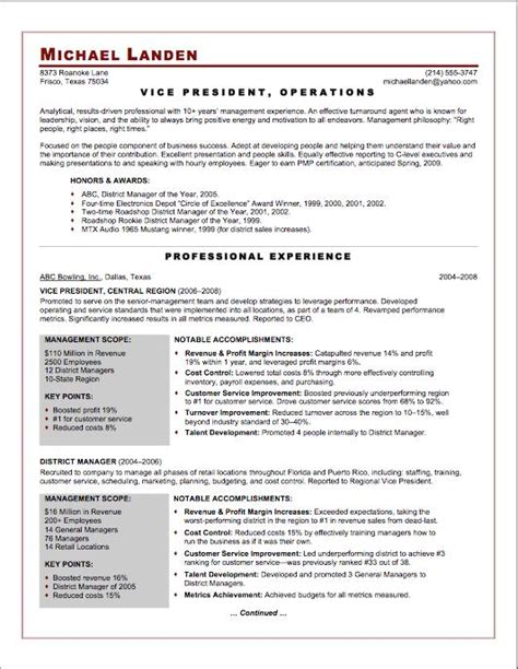 sle resumes for vice presidents sle resume executive vice president 28 images vp