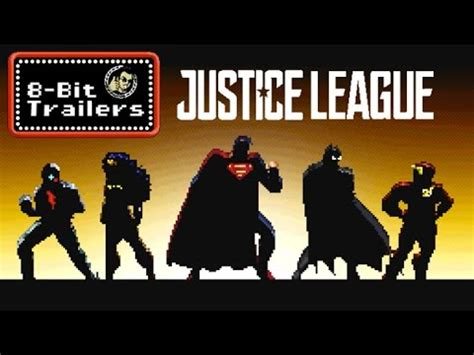 film justice league youtube justice league 8 bit movie trailers youtube