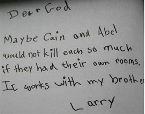 Dear God Letters