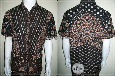 batik untuk pria batik tulis asli untuk pria modern motif modern depan