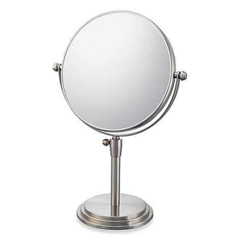 bathroom vanity mirrors brushed nickel buy mirror image classic adjustable 5x 1x vanity mirror